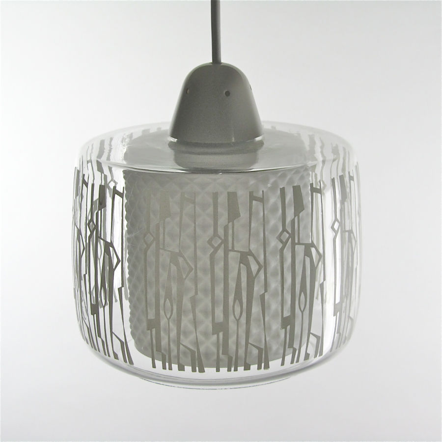 Philips glaslamp jaren '60