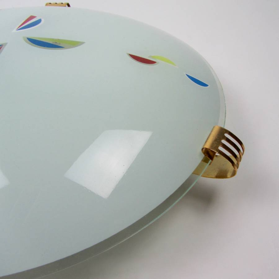 Seventies ceiling lamp D