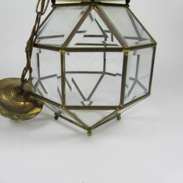 Amsterdamse School lamp 1900 - 1920 small detail C