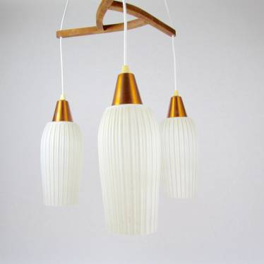 Danish fifties hanging lamp