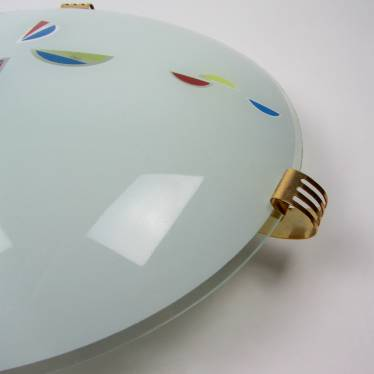 Seventies ceiling lamp small detail D