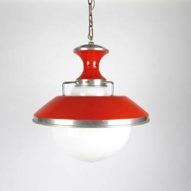 Seventies lamp orange