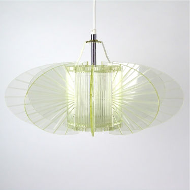 Space Age hang lamp