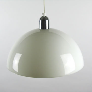 Wit plastic hanglamp  small detail A