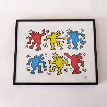 Keith Haring Blaffende Honden small detail A
