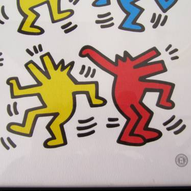 Keith Haring Blaffende Honden small detail B