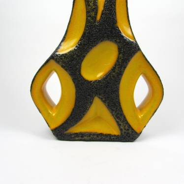Lava vase Roth ceramic small detail B