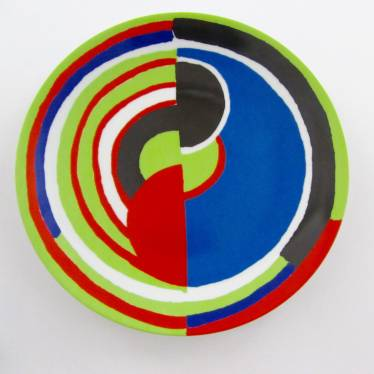 Sonia Delaunay plate