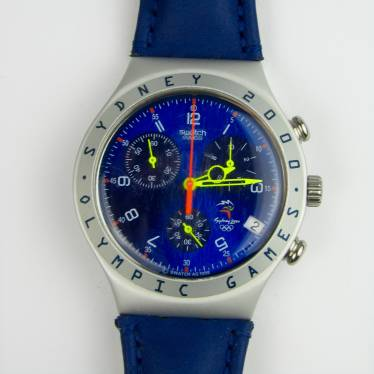 Swatch horloge Sydney 2000 small detail B