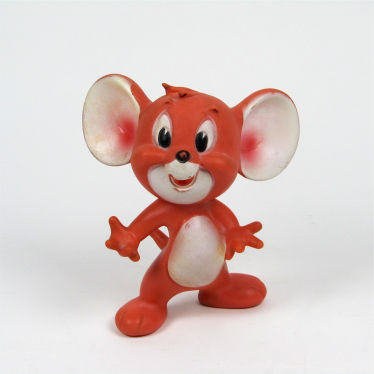 Vintage plastic Tom and Jerry toy
