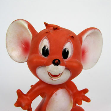 Vintage plastic Tom and Jerry toy small detail B