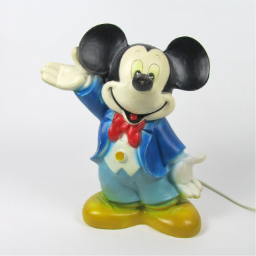 Mickey Mouse lamp small detail A