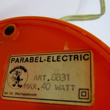 Parabel electric bureaulamp small detail B