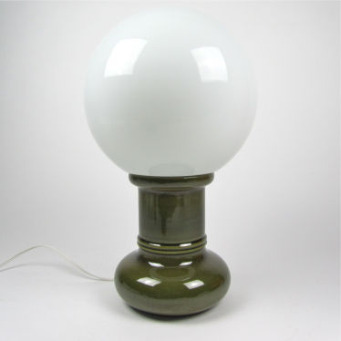 Seventies ceramic lamp