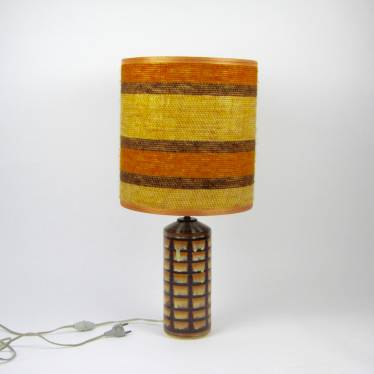 Seventies ceramics table lamp