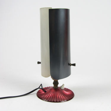 Sixties plexiglass table lamp