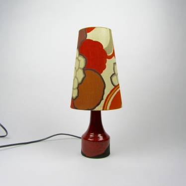 Sixties table lamp  small detail A