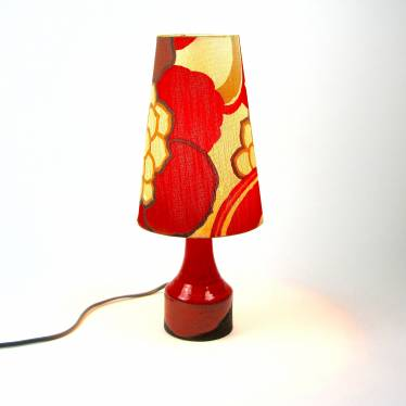 Sixties table lamp  small detail C