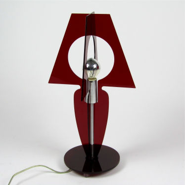 Table lamp plexiglass