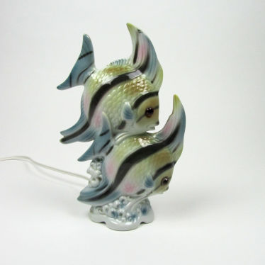 Tropical Zebra Fish perfume lamp