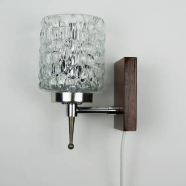 Seventies wall lamp small detail A