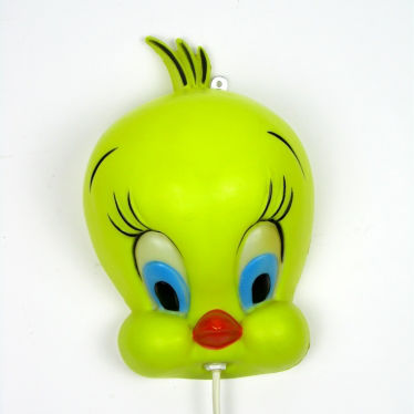 Warner Bros Tweety wand lamp